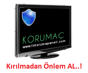 LCD, LED, Plazma TV Ekran Koruma Paneli